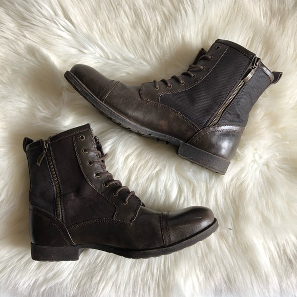23fe7115029 Guess mens leather boots